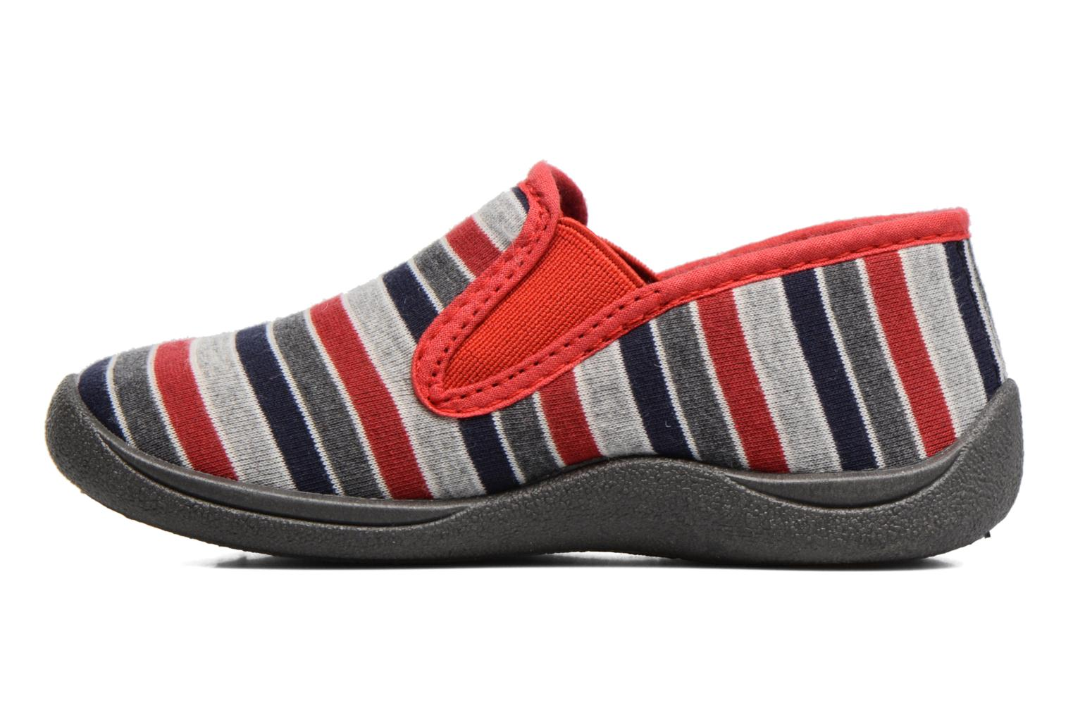 Chaussons Rondinaud Jimmy Gris vue face