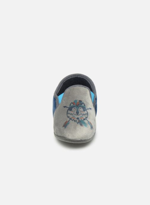 Slippers Rondinaud Fanon Blue model view