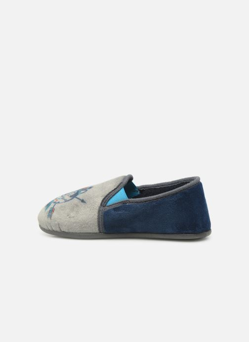 Slippers Rondinaud Fanon Blue front view