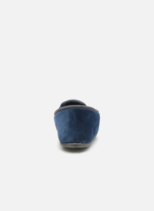 Chaussons Rondinaud Fanon Bleu vue droite