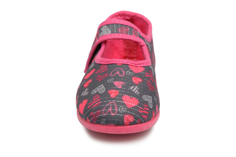 Chaussons Rondinaud Eva Gris vue portées chaussures