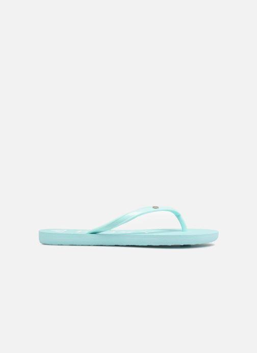 Slippers Roxy Rg Sandy Blauw achterkant