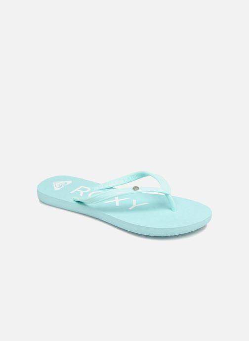 Flip flops & klipklapper Roxy Rg Sandy Blå detaljeret billede af skoene