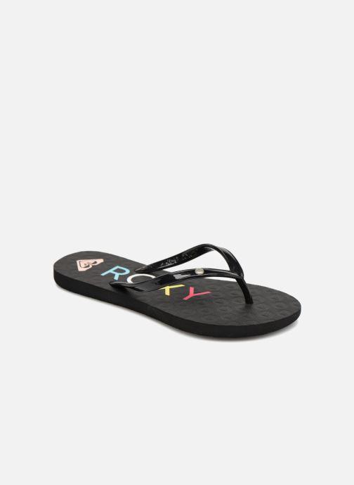 Flip flops & klipklapper Roxy Rg Sandy Sort detaljeret billede af skoene