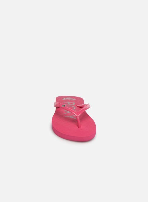 Flip flops & klipklapper Roxy Rg Sandy Pink se skoene på