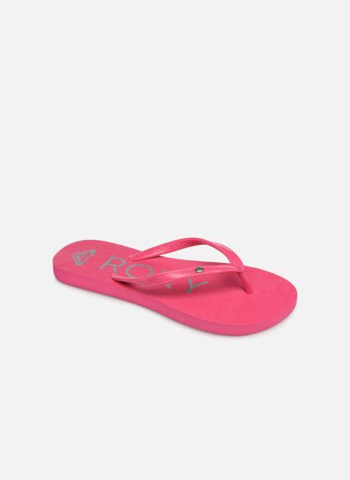 Flip flops & klipklapper Roxy Rg Sandy Pink detaljeret billede af skoene
