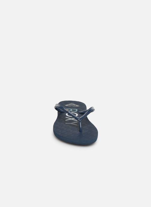 Chanclas Roxy Rg Sandy Azul vista del modelo