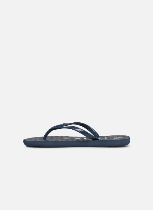 Flip flops Roxy Rg Sandy Blue front view