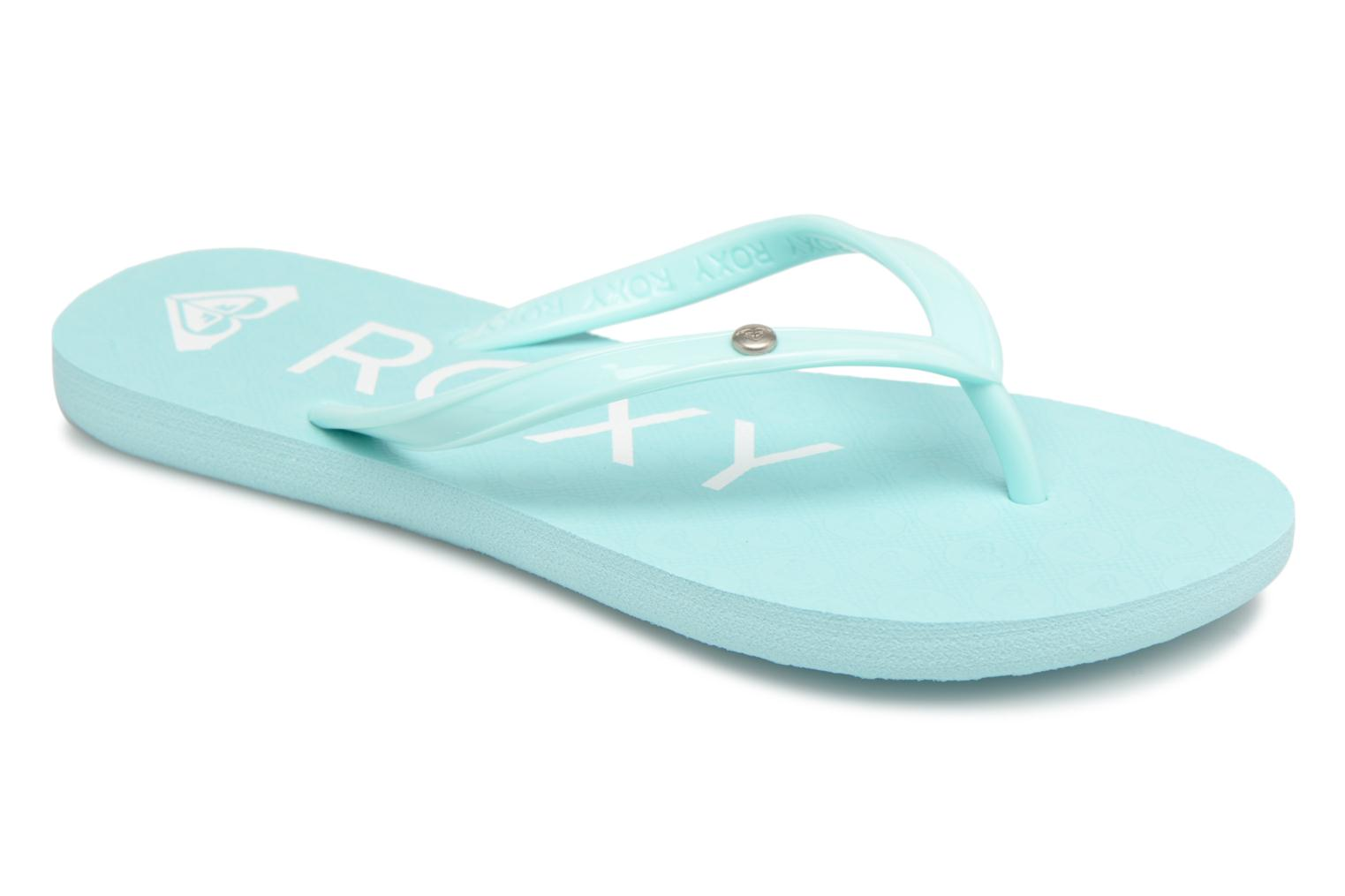Flip flops Roxy Rg Sandy Blue detailed view/ Pair view