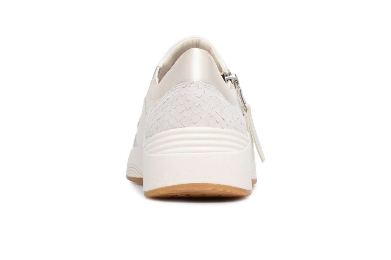 Baskets Geox D OMAYA A D620SA Blanc vue droite