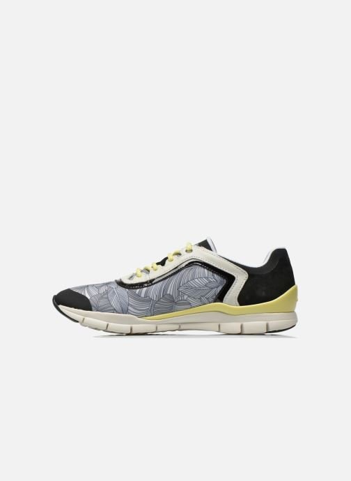 Trainers Geox D SUKIE B D62F2B Multicolor front view