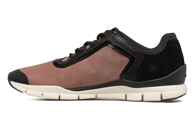 Sneakers Geox D SUKIE B D62F2B Roze voorkant