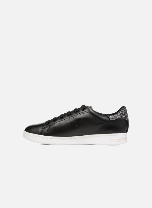 Sneaker Geox D JAYSEN A D621BA schwarz ansicht von vorne