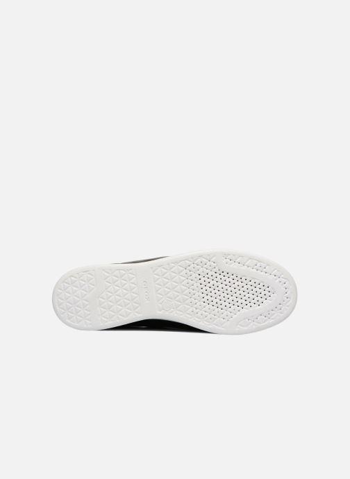 Sneaker Geox D JAYSEN A D621BA schwarz ansicht von oben