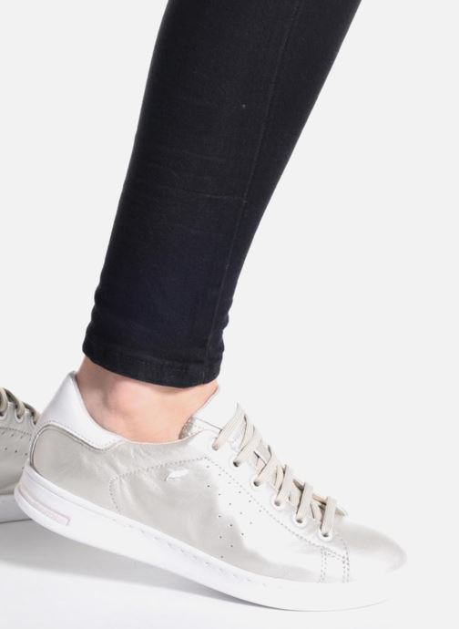 Sneakers Geox D JAYSEN A D621BA Bianco immagine dal basso