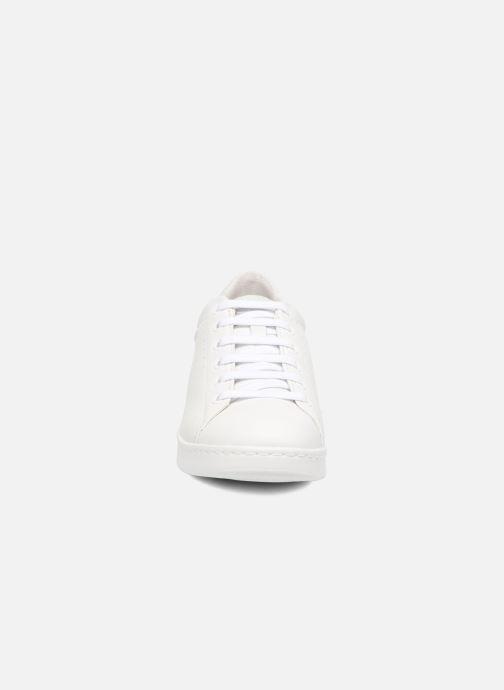 Sneaker Geox D JAYSEN A D621BA weiß schuhe getragen