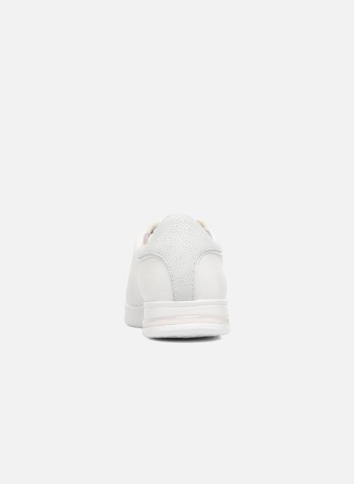 Baskets Geox D JAYSEN A D621BA Blanc vue droite