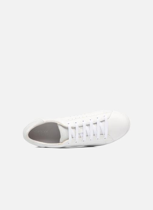 Sneaker Geox D JAYSEN A D621BA weiß ansicht von links
