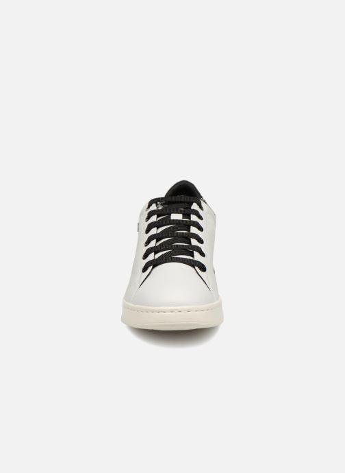 Baskets Geox D JAYSEN A D621BA Blanc vue portées chaussures