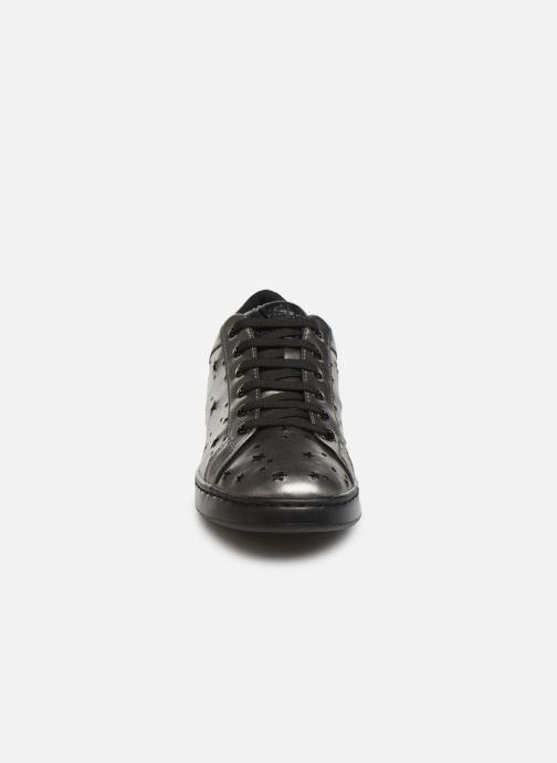 Baskets Geox D JAYSEN A D621BA Argent vue portées chaussures