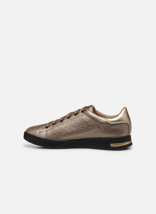 Sneakers Geox D JAYSEN A D621BA Oro e bronzo immagine frontale