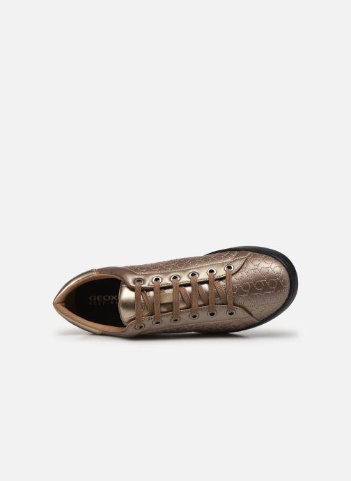 Sneakers Geox D JAYSEN A D621BA Oro e bronzo immagine sinistra