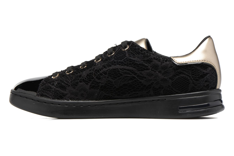 Sneakers Geox D JAYSEN A D621BA Zwart voorkant