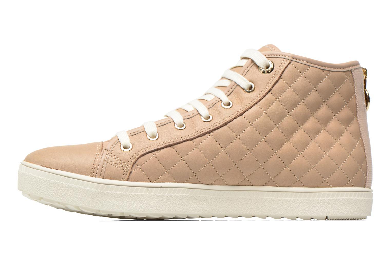 Sneakers Geox D AMARANTH ABX A D62Z4A Beige voorkant