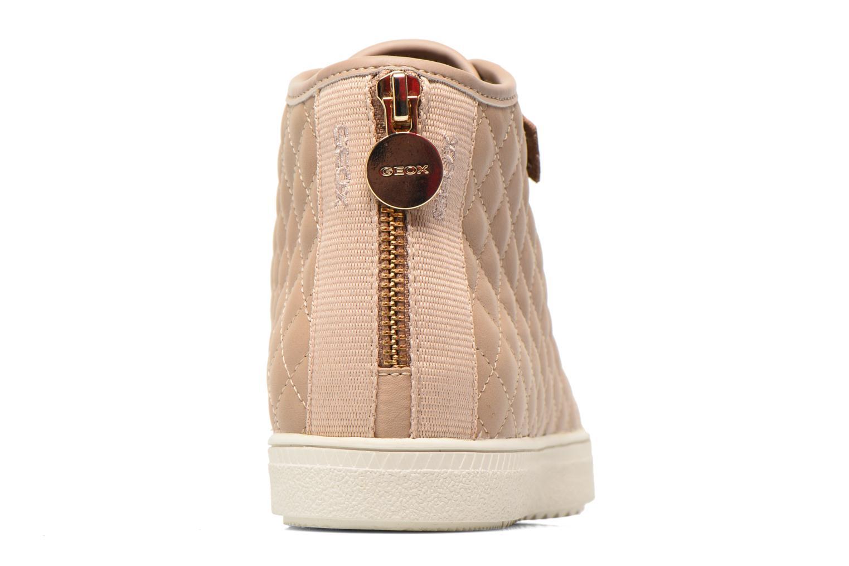 Sneakers Geox D AMARANTH ABX A D62Z4A Beige rechts