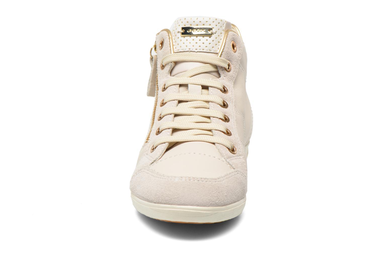 Sneakers Geox D MYRIA A D6268A Bianco modello indossato