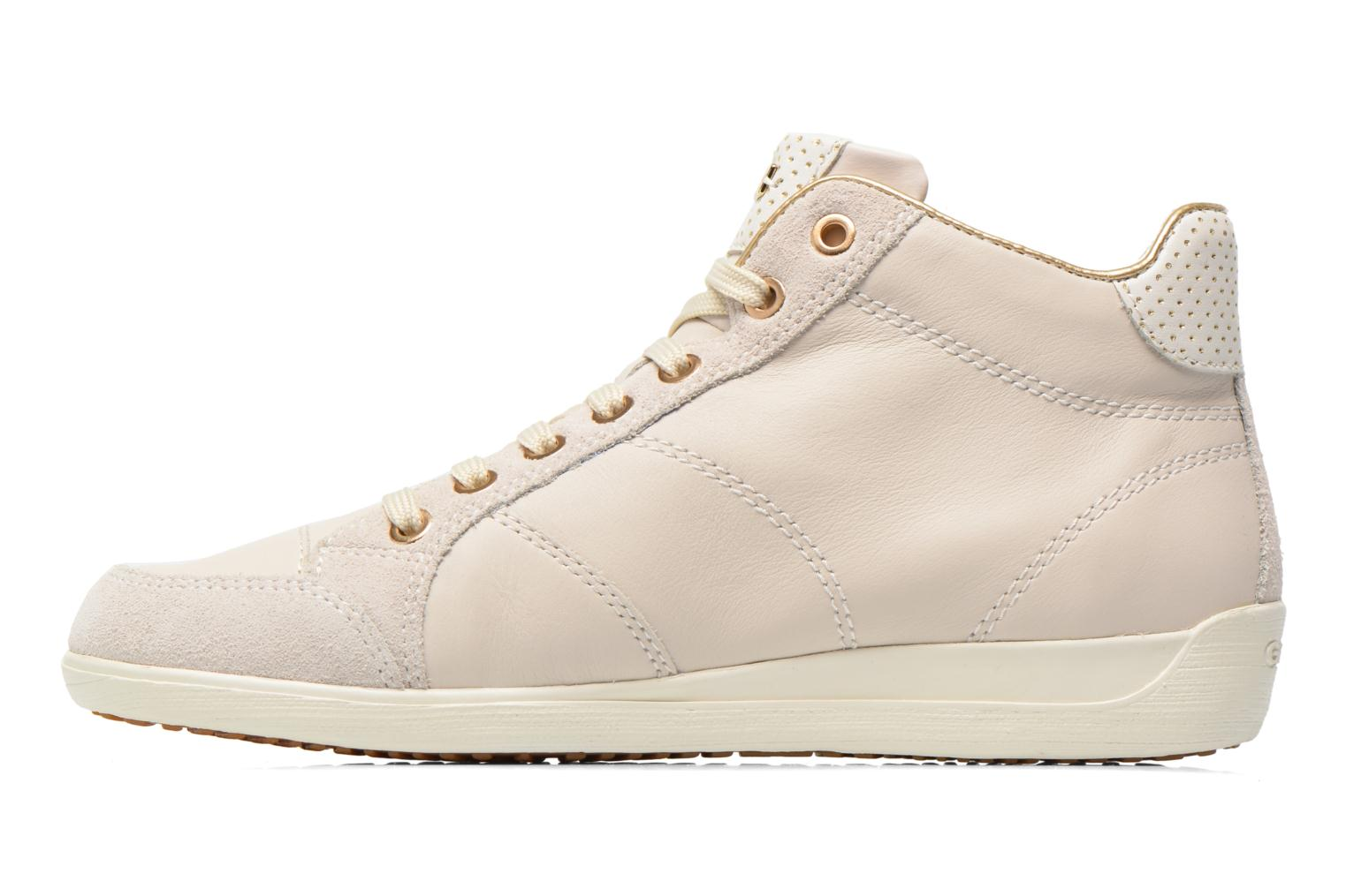 Sneakers Geox D MYRIA A D6268A Bianco immagine frontale