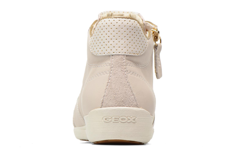 Sneakers Geox D MYRIA A D6268A Bianco immagine destra