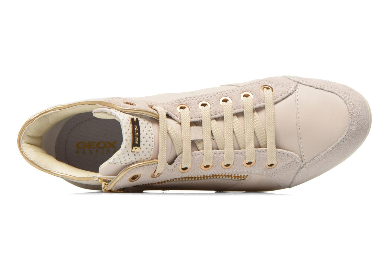 Sneakers Geox D MYRIA A D6268A Bianco immagine sinistra