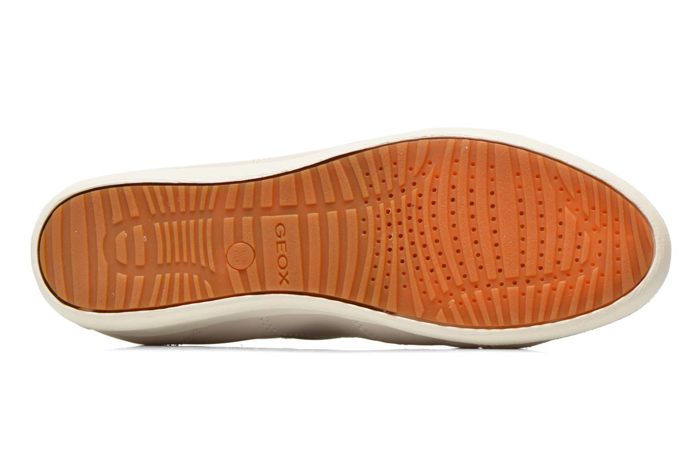 Sneakers Geox D MYRIA A D6268A Bianco immagine dall'alto