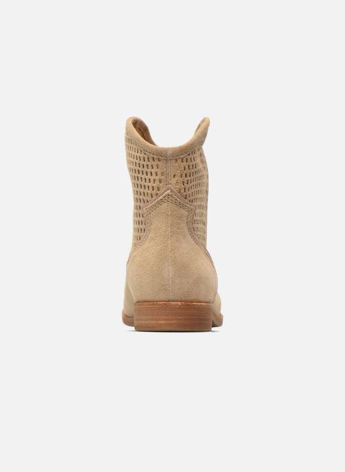 Bottines et boots Geox D ELIXIR E D62C7E Beige vue droite