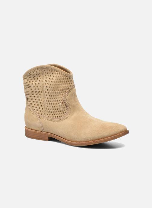 Bottines et boots Geox D ELIXIR E D62C7E Beige vue détail/paire
