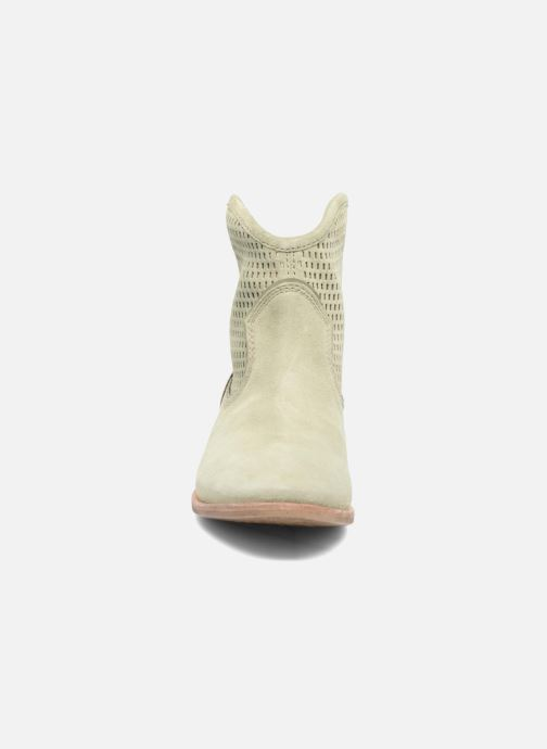 Bottines et boots Geox D ELIXIR E D62C7E Vert vue portées chaussures