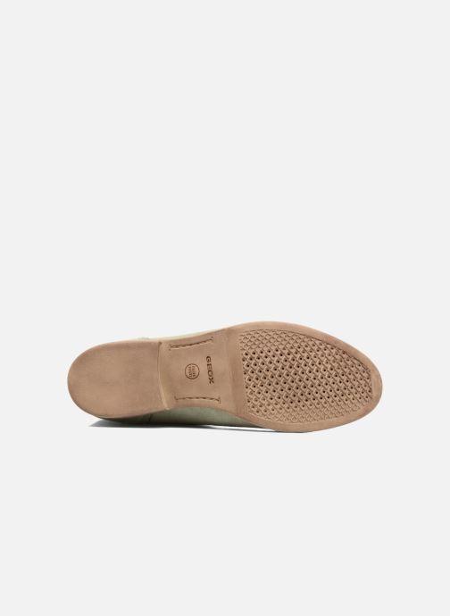 Boots en enkellaarsjes Geox D ELIXIR E D62C7E Groen boven