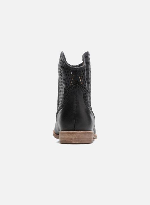 Bottines et boots Geox D ELIXIR E D62C7E Noir vue droite