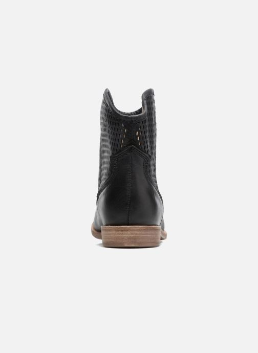 Boots en enkellaarsjes Geox D ELIXIR E D62C7E Zwart rechts