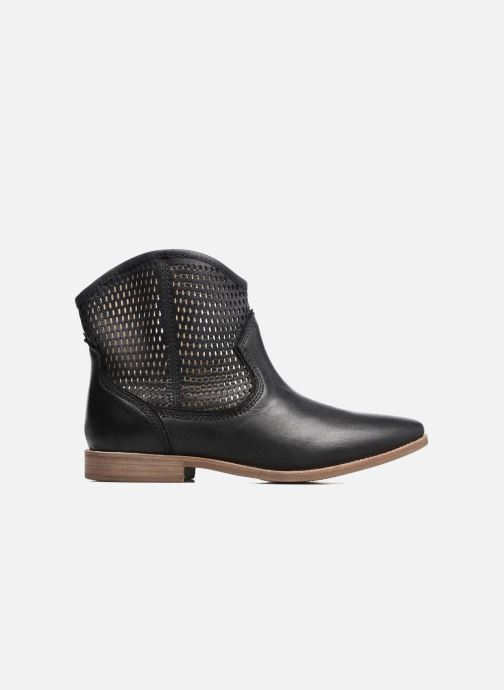 Boots en enkellaarsjes Geox D ELIXIR E D62C7E Zwart achterkant