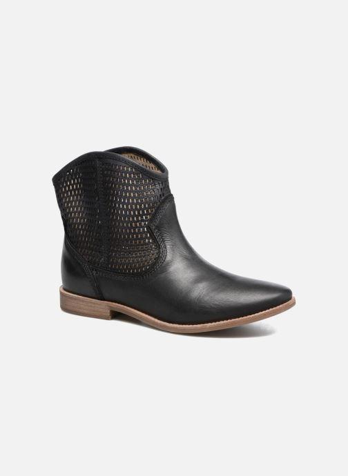 Boots en enkellaarsjes Geox D ELIXIR E D62C7E Zwart detail