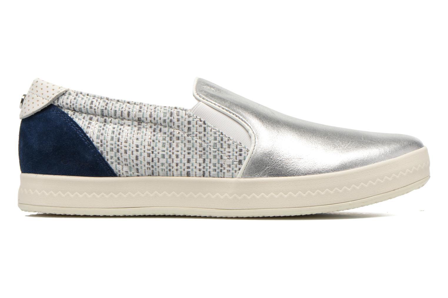 Sneakers Geox D MODESTY C D4429C Argento immagine posteriore
