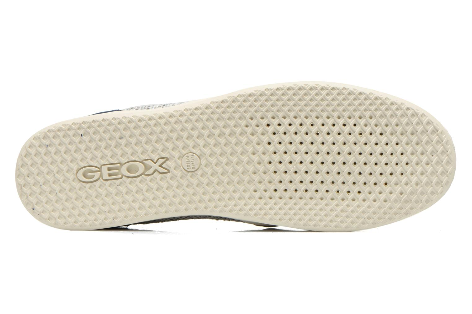 Sneakers Geox D MODESTY C D4429C Argento immagine dall'alto
