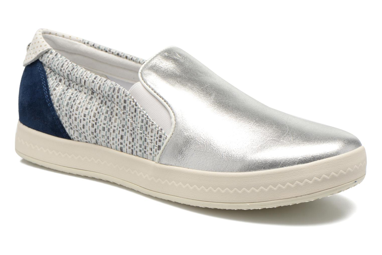 Sneakers Geox D MODESTY C D4429C Argento vedi dettaglio/paio