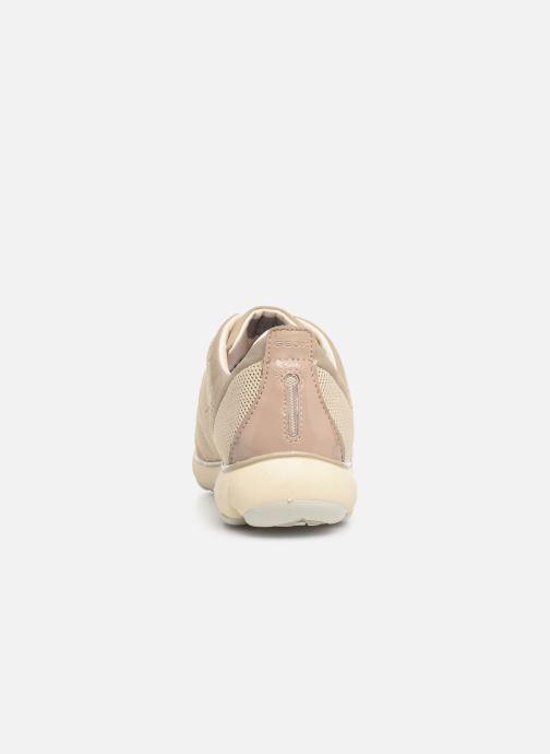 Sneakers Geox D NEBULA C D621EC Beige rechts