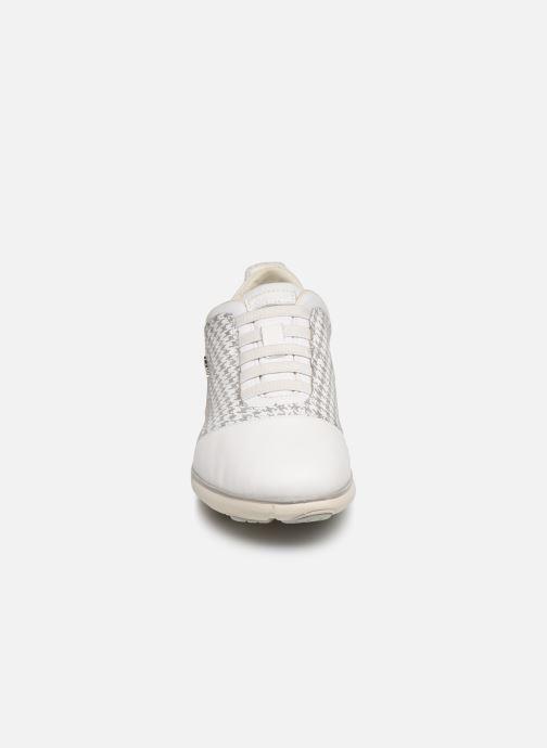 Baskets Geox D NEBULA C D621EC Gris vue portées chaussures