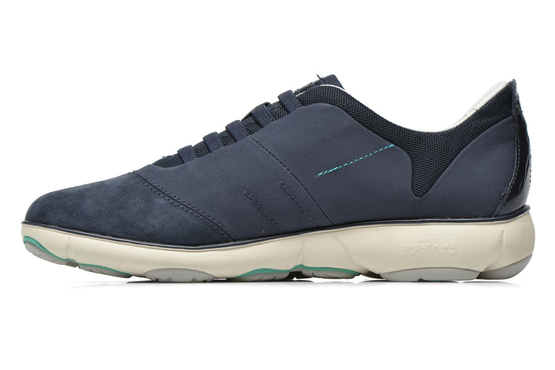 Sneakers Geox D NEBULA C D621EC Blauw voorkant
