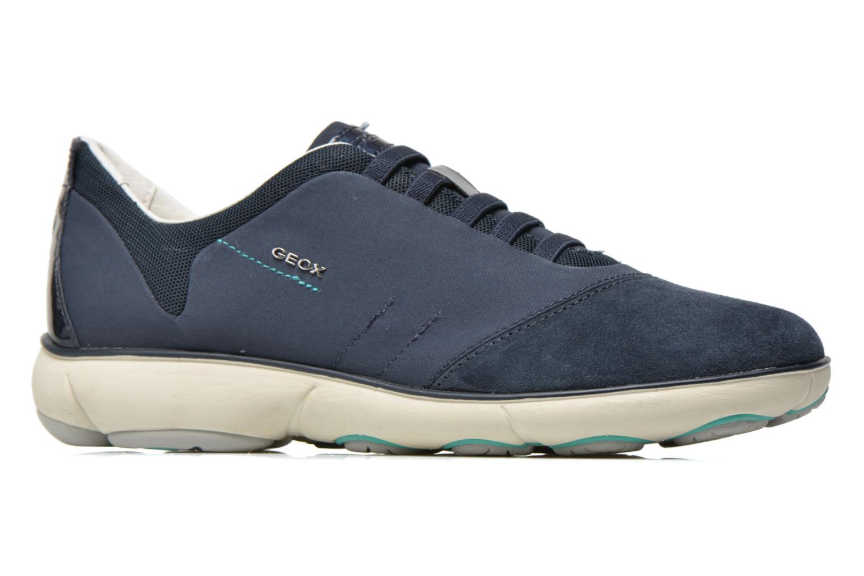Sneakers Geox D NEBULA C D621EC Blauw achterkant