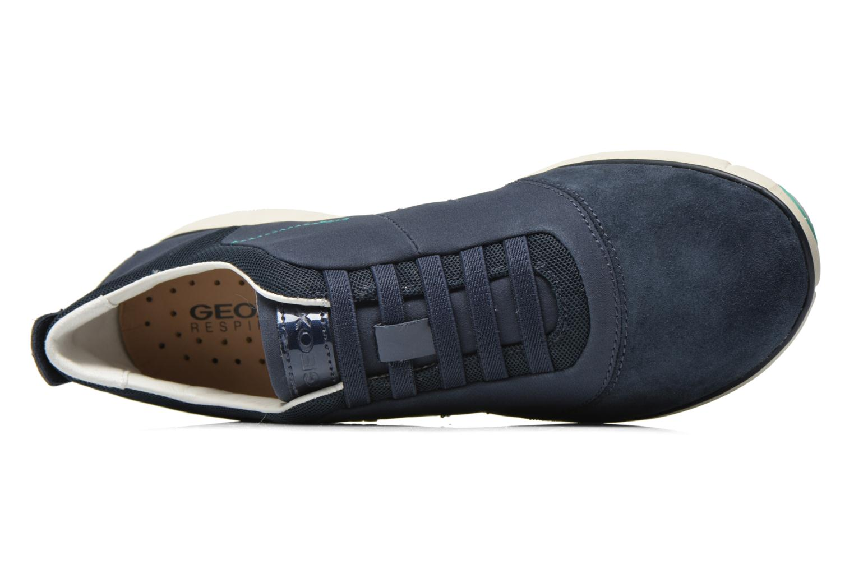 Sneakers Geox D NEBULA C D621EC Blauw links
